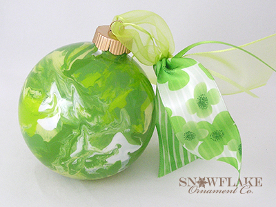 Go Green Ornament